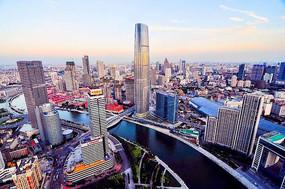 天津这些城区高楼林立俯瞰图