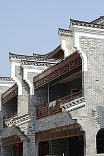广西桂林杨堤古镇建筑