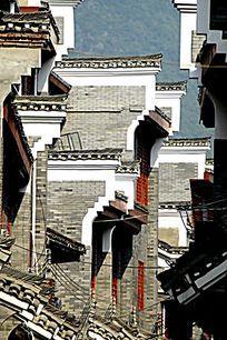 广西桂林杨堤古镇建筑外观图片