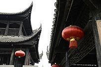 湘西乾州古城古建筑吊脚楼图片