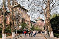 武汉大学老斋舍景观