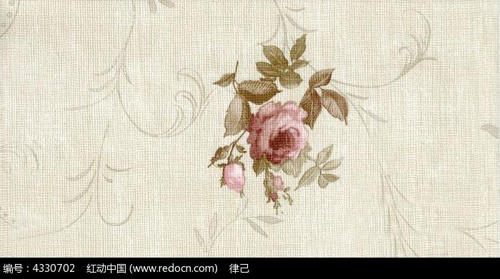 墙纸紫荆花图案材质贴图高清质感背景图片