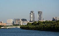 繁华的都市