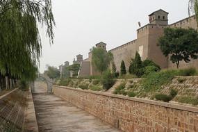 平遥古城的古城墙