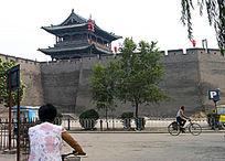 平遥古城古城墙和城楼