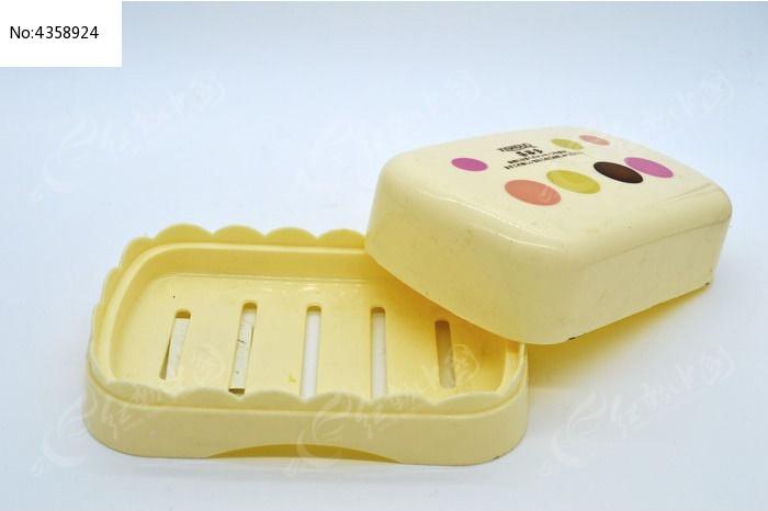 香皂盒特写图片