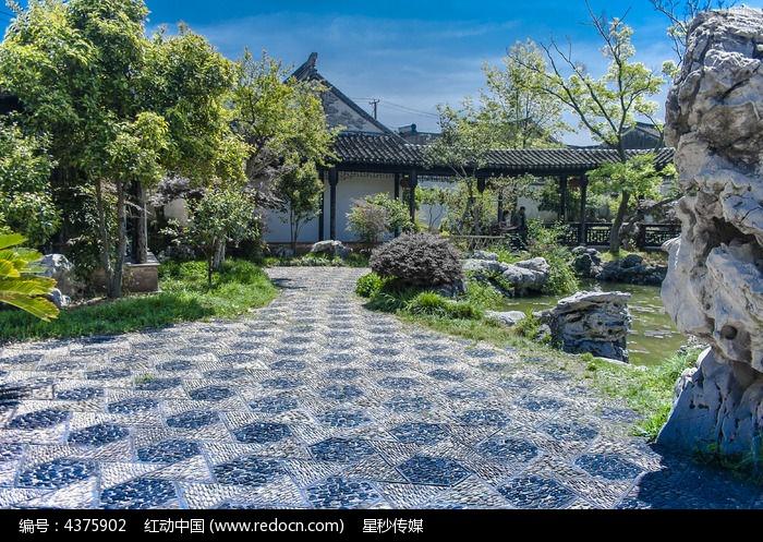 美丽的中式园林图片