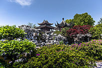 木渎蔡少鱼旧宅的中式园林景观