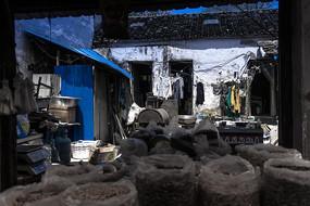 苏州古镇干货店铺