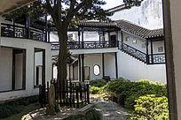 苏州木渎蔡少鱼旧宅建筑物