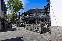 苏州木渎古镇街景