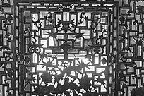 苏州木渎蔡少鱼旧宅的木雕门窗