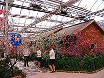 赤峰市生态美食广场木屋餐厅