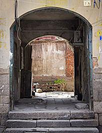 德国建筑的门