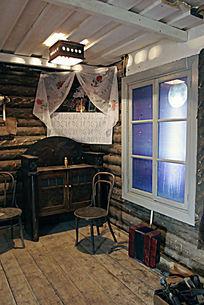俄罗斯传统民居室内装饰