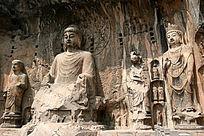 奉先寺大卢舍那佛佛像