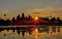 柬埔寨古建筑