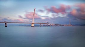 梦幻深圳湾跨海大桥