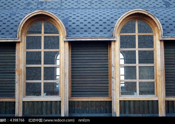 欧式建筑窗子图片