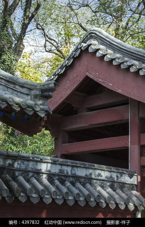 原创摄影图 建筑摄影 教堂寺庙 崂山的房瓦