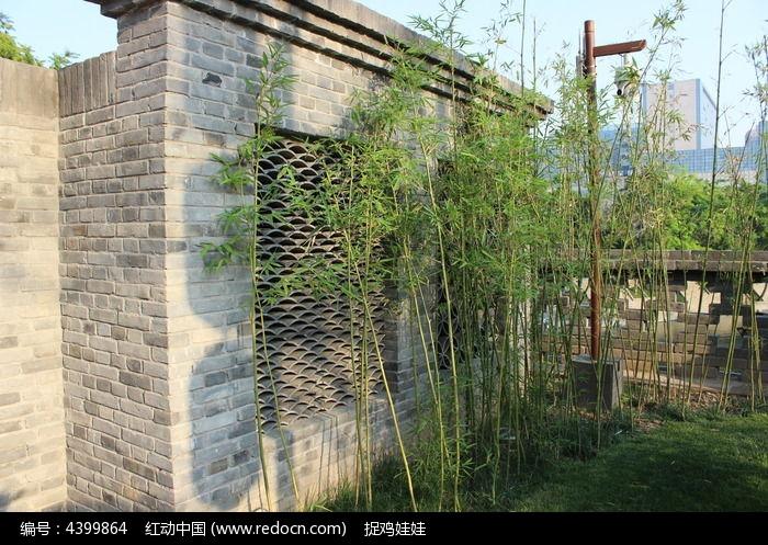 园林景观竹林图片