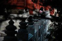 圆明新园的石雕
