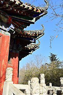 中式土木建筑飞檐