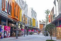 商业街街景