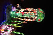 绿色水母灯
