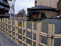 停车场的围栏