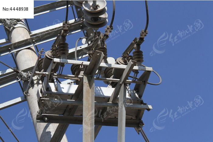 高压线路断路器图片
