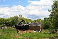 呼伦贝尔山里农家院