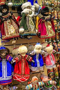 漂亮的俄罗斯布袋娃娃
