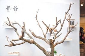 时尚简约树木风格家居装饰品