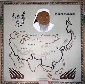 蒙元时期疆域图