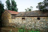 农村老式瓦房