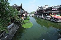 上海七宝老街河道景观