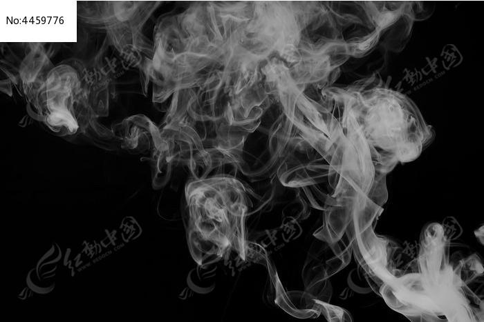 卡通手绘烟雾图