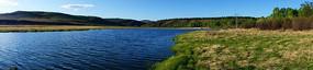 湿地湖泊风景