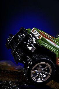 遥控玩具越野车高清拍摄