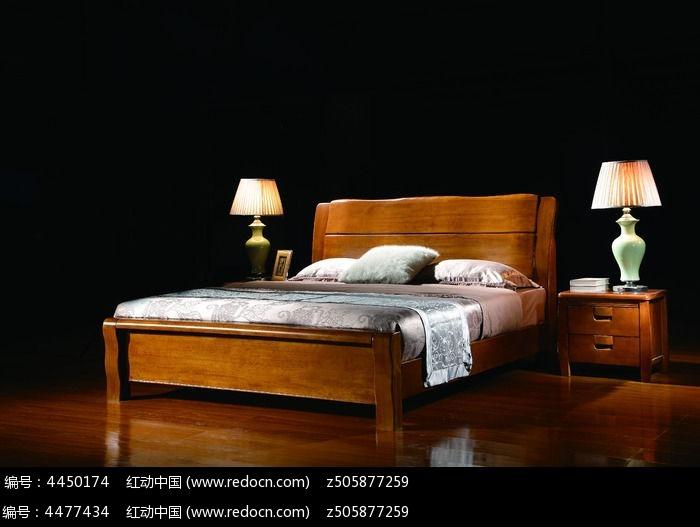 床 胡桃木实木床