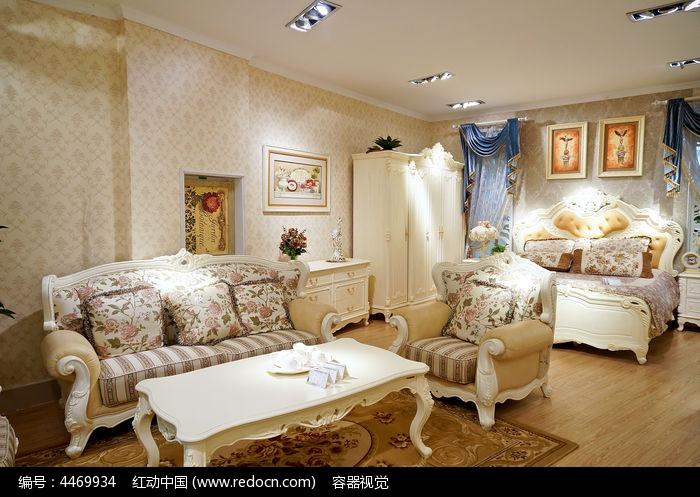 豪华欧式家具展厅图片