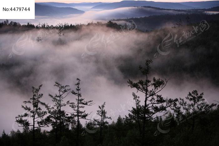 水墨山林图片,高清大图_森林树林素材