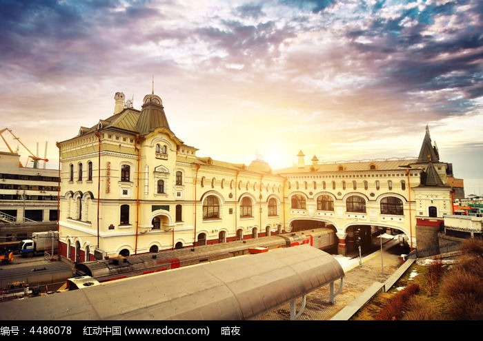 海参崴沙俄时期路港火车站鸡蛋生姜红糖上热下寒图片