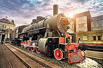俄罗斯沙皇时期蒸汽机车头