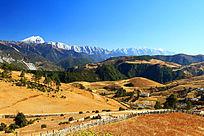 哈巴雪山山地景观