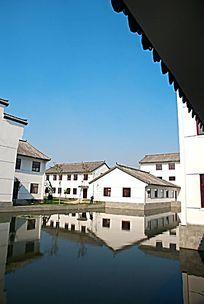 江南水乡徽派建筑