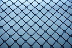 建筑外观上的几何图形纹理