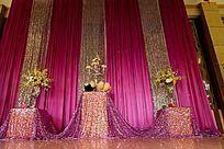 浪漫温馨的婚礼背景道具