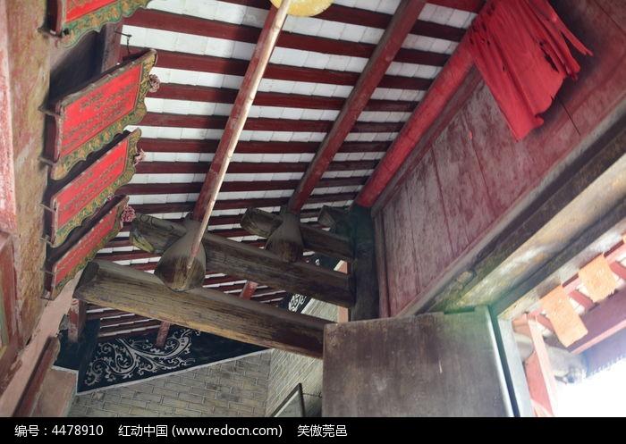 清代古建筑内部结构图片